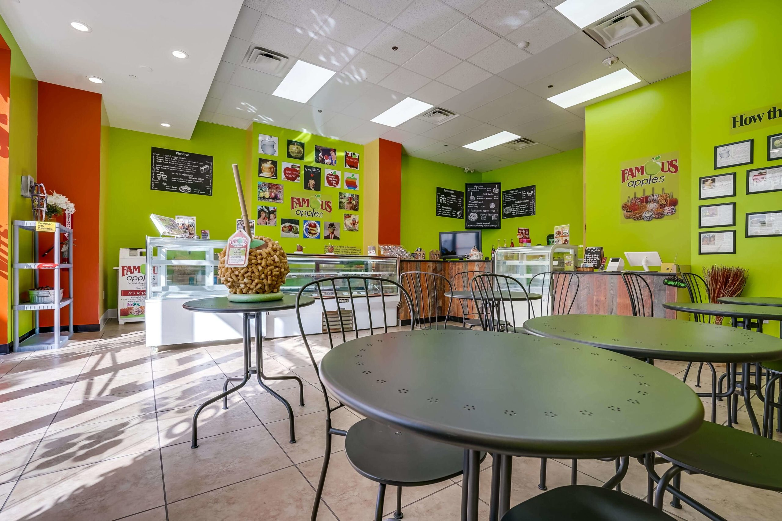 Famous Apples - Candy Apple colored interior