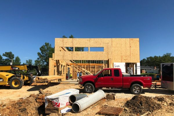 Fast Food Building Construction