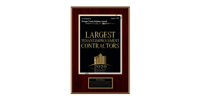 Largest Tenant Improvement Contractors Award